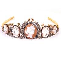 Princess Tiara Cameo Jewelry