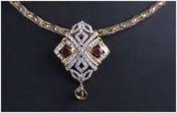 Diamond Pendant Sets (SJ DPS0105)