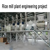Automatic High Quality Rice Mill Plant