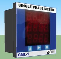 Single Phase Energy Meter With Inbuilt Data Logger