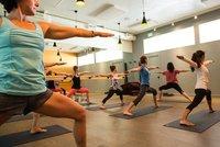 Aerobics Sports Court Rubber Flooring