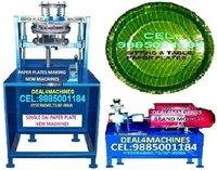 Semi Automatic Single Dies Paper Plate Making Machine