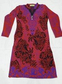 Woolen Kurtis Fabric