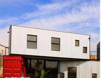 Flexible Design Shipping Prefabricated Container House