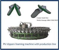 Pu Slipper Injection Production Line