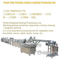 Frozen French Fries Potato Chip Production Line