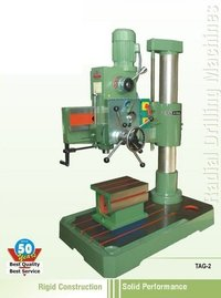 Precision All-Geared Radial Drilling Machine
