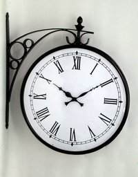Double Side Clock