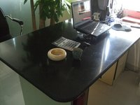 Durable Custom Solid Surface Material Table Top