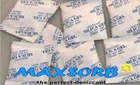 Silica Gel Desiccant Packets