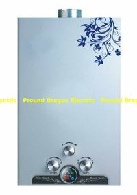 Instant Gas Water Heater With Tempered Glass