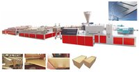 Wood And Plastic Board Production Line
