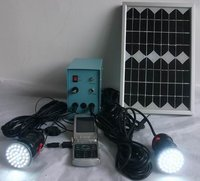 Solar Home Light With 2 Lamps