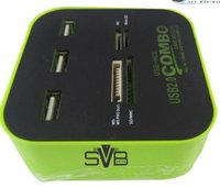 Svb-Combo Hub Usb With Card Reader