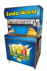 Flavour Soda Fountain Machine