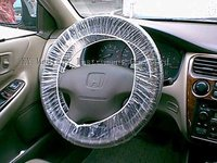 Disposable PE Steering Wheel Cover