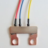 Energy Meter Manganin Shunt 290 micro ohm