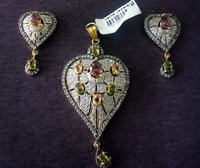 American Diamond Pendent Jewelry