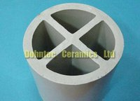 50,80mm Ceramic Cross-Partition Ring For Tower Packing