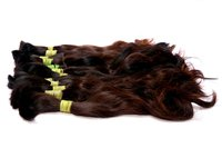 Indian Remy Single Drawn Human Hair (Bulk Hair)