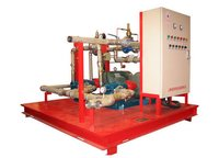 Balanced Pressure Foam Proportioning System Foam Skids