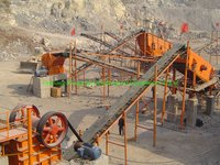 Coal Belt Conveyor For Stone Production Line