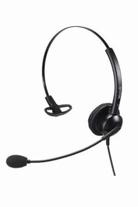 Monaural Simple Structure Headsets