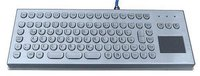Intrisically Safe Industrial Metal Keyboard With Touchpad