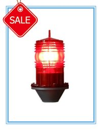 Led Double Type Aircraft Use Tower Obstruction Warning Light (Gz-70)