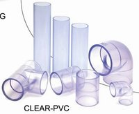 Clear UPVC Pipes and Fittings ANSI Standard/Clear PVC Fittings