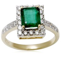 Gold Emerald Rings