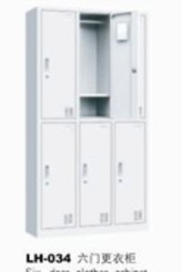 Steel Six Doors Clothes Cabinets
