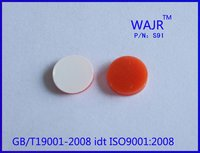 White Ptfe/Red Silicone Septa Caps