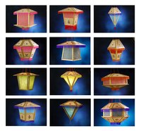 Diwali Lamp Shades (97001)