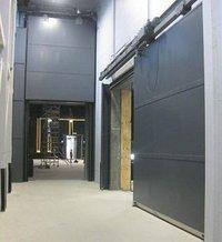 Sliding Acoustic Doors