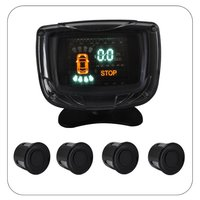VFD Display Parking 4 Rear Sensors With 10 To 15V DC Voltage And 4W Power