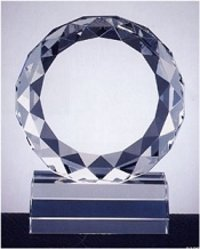Personalized Crystal Award Trophy