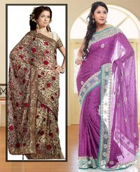 Glamour Look Saree Combo