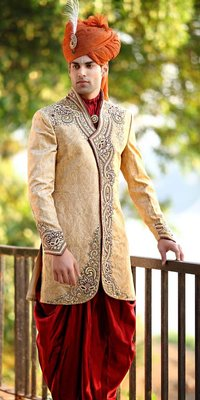 Iregal Touch Patiala Sherwani