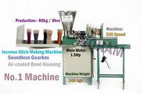 Fully Automatic Incense Machine With Nano feeder & PLC-180 sticks.