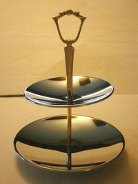 Silver Plated Dessert Stand
