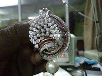 Pearl Silver Pendant Set