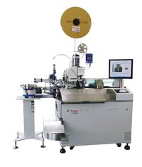 Full Automatic Terminal Crimping And Soldering Machine With Shell Wearing