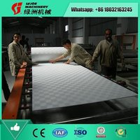 Small Investment Gypsum Board PVC Film Laminating Machine