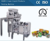 Pre-Made Ziplock Bag Dried Fruits And Vegetables Packing Machine