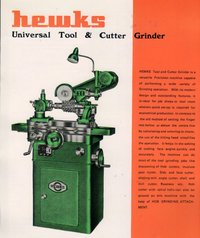 Hewks Tool and Cutter Grinder
