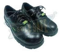 PU Sole Derby CH4 Leather Safety Shoes