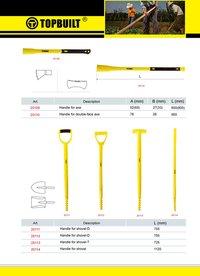 Fiberglass Handle For Shovel