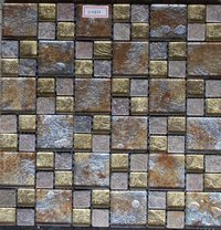 Glass Mosaic Tile (H4856)