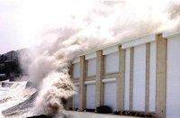 Hurricane Roller Shutter Door